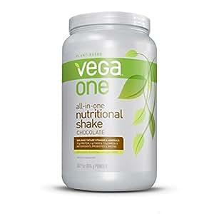 Vega (Sequel) Naturals, Vega One, Boisson Nutritionnelle à base de plantes, chocolat, 30.9 oz (876 g)