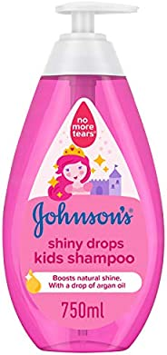 JOHNSON'S Kids Bath, Shampoo - Shiny Drops, 750ml
