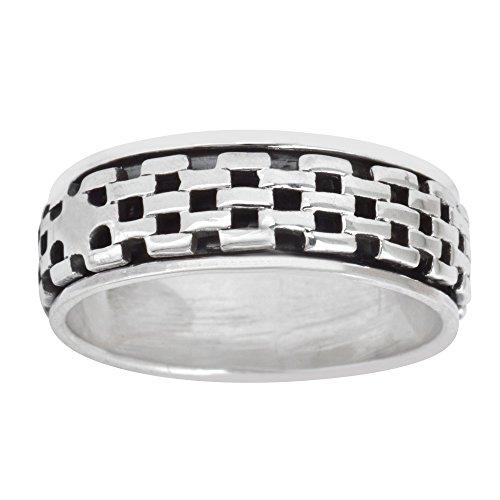 silvery-anello-argento-925-a-fascia-girevole-antistress-mattoni-pietra