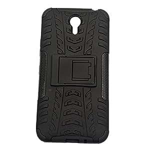 nCase Shock Proof Back Cover for Lenovo ZUK Z1 - (Black)