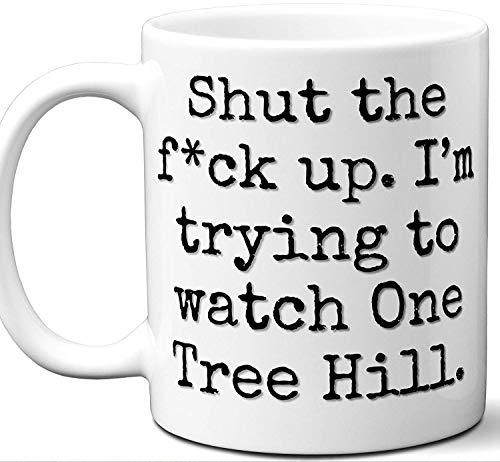 One Tree Hill Gift Mug  Funny Parody TV Show Lover Fan