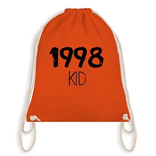 Compleanno - 1998 Kid - Borsa Da Palestra Borsa Da Ginnastica Arancione