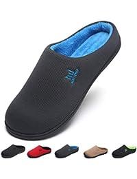 MAIITRIP Uomo Pantofola Antiscivolo Invernale Ciabatte per Uomini Cotone  Peluche Scarpe Inverno Morbido Caldo Leggero Memory 9515d443d85