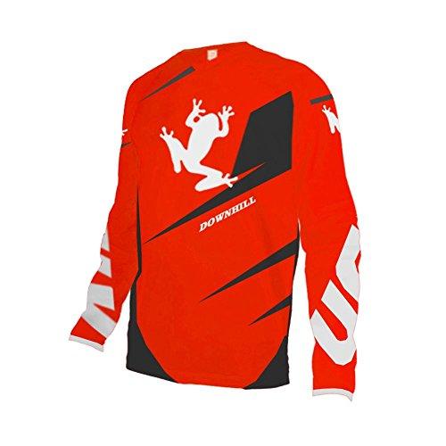 Uglyfrog Element Racewear Motocross Herren Downhill Jersey Trikot MX Enduro Offroad Motorrad Youth/Erwachsener Wear Fahrradtrikot Langarm Winter Thermo Laufjacke