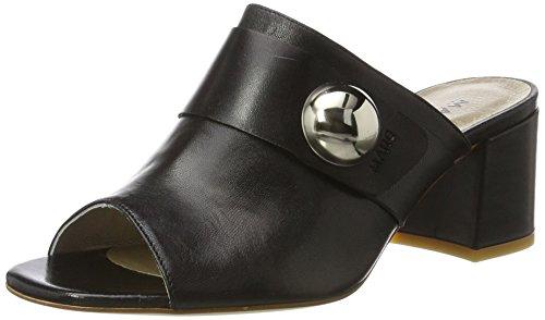 Schuhe Celine (Marc Shoes Damen Celine Pantoletten, Schwarz (Schwarz), 41 EU)