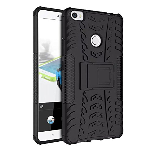 CaseMania Defender Shockproof Hybrid Armour back case cover for Xiaomi MI Max with Kick Stand with Gift Card Worth Rs.200