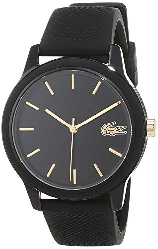 Lacoste Womens Analogue Classic Quartz Watch with Silicone Strap 2001064 Best Price and Cheapest