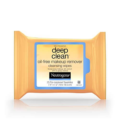 Neutrogena deep clean oil free makeup removing wipes - 25/pack (Makeup Entferner) -