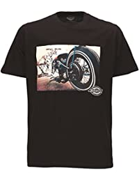 Dickies T-Shirt HOT ROD WHEEL TEE black