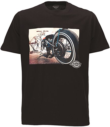 Dickies T-Shirt HOT ROD WHEEL TEE black Black