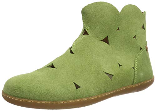 El Naturalista N5282 Lux Suede, Botas Clasicas Unisex Adulto, Verde Green Green, 39 EU