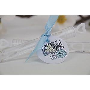 Gastgeschenk zur Kommunion, Konfirmation, Firmung, Taufe Seifenblasen Personalisiert