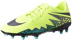 Nike Herren JR Hypervenom Phelon II FG 749896 108 Fußballschuhe,  Gelb (Gelb (Volt/Black-Hyper Turq-Clr Jade)), 43
