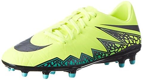 Nike Herren JR Hypervenom Phelon II FG 749896 108 Fußballschuhe, Gelb (Gelb (Volt/Black-Hyper Turq-Clr Jade)), 42.5