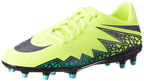 Nike Herren Jr Hypervenom Phelon II FG 749896 108 Fußballschuhe, Gelb (Gelb (Volt/Black-Hyper Turq-Clr Jade)), 44.5 EU (Nike Fg 5)