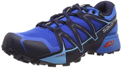 Salomon speedcross vario 2 gtx, scarpe da trail running uomo, blu (sky diver/indigo bunting/navy blazer), 44 eu