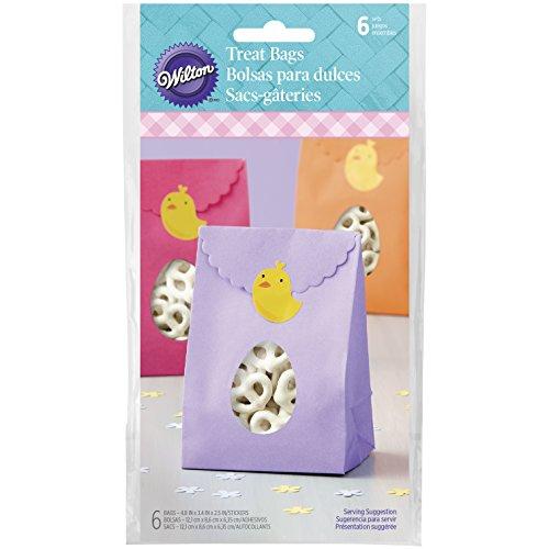 Wilton Ostern Ei Behandeln Taschen, Mehrfarbig, 6Stück (Ostern Behandeln Taschen)