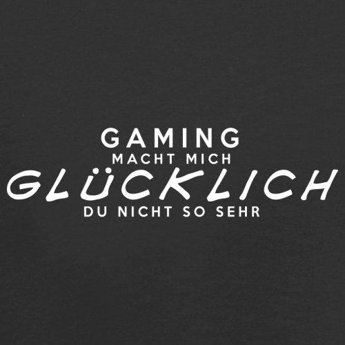 Gaming macht mich glücklich - Unisex Pullover/Sweatshirt - 8 Farben Schwarz