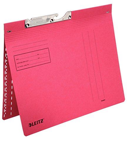 Leitz 50 x LEITZ Combi Pendelhefter DIN A4 kfm. Heftung blau rot