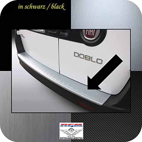 Richard Grant Mouldings Ltd. Original RGM Ladekantenschutz schwarz für FIAT Doblo II (263) Hochdach Kombi Doblò ab Baujahr 02.2010- RBP8401 -