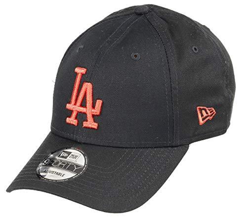 New Era Los Angeles Dodgers MLB Cap New Era 9forty Verstellbar Baseball Schwarz Rot - One-Size (Dodgers Angeles Mlb Los)