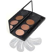 VONISA Makeup Powder 4 Colour Eyebrow Kit-Eye