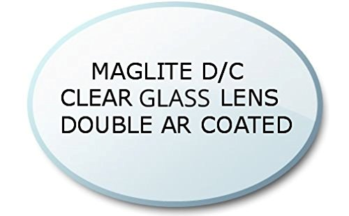 Maglite D oder C Taschenlampe Anti-reflective (AR) Coated Ultra Clear Mineral Glas Linse, UpLED