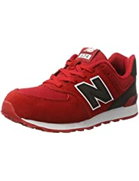 be412159bda40 Amazon.es  new balance 574 rojas  Zapatos y complementos