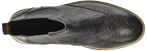 Superdry Brad Brogue Prem, Bottes Chelsea Homme Noir (Washed Black)