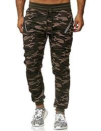 a80e803ceab40b ArizonaShopping Herren Jogginghose Camouflage Sport Army Sweat Pants  Tarnmuster H2534