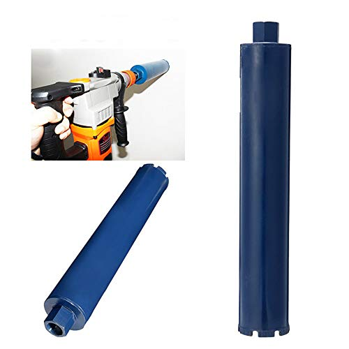 ExcLent 76X450Mm Wet Diamond Core Drill Bits Hole Saw Cutter For Reinforced Concrete Stone Rock Granite