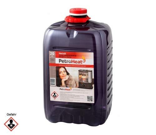 CAGO Petroleum 20l Liter geruchsarm für Petroleumofen Heizofen Heizer