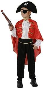Atosa-95709 Disfraz Pirata, color rojo, 10 A 12 Años (95709)