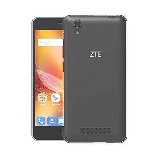 TBOC® Transparent Gel TPU Hülle für ZTE Blade A452 (5.0 Zoll) Ultradünn Flexibel Silikonhülle