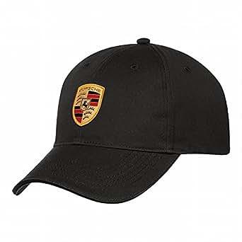 Porsche Casquette avec blason de la marque Noir