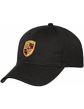 Porsche Cap Mütze schwarz mit Wappen