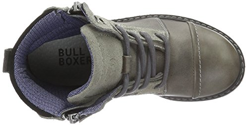 Bullboxer Aha503e6l, Bottes Classiques garçon Gris - Grau (STON)