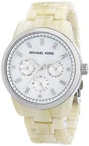 Michael Kors Damen-Armbanduhr Ritz Multifunktion Analog Quarz Plastik MK5625