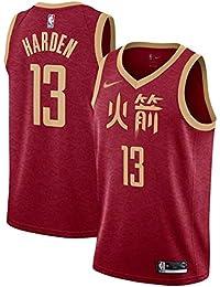 canottejerseyNBA James Harden Houston Rockets  13 Red City Edition Chinese  Basket Jersey Maglia Canotta 80b20a828870