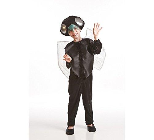 Imagen de disfrazzes  disfraz de 3 a 5 años de mosca negra para niños