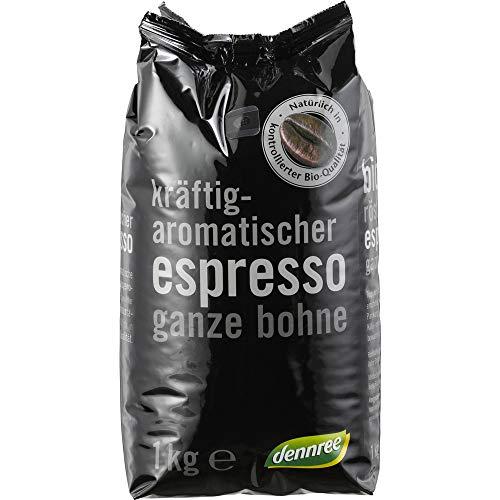dennree Bio Espresso ganze Bohne (2 x 1000 gr)