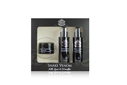 Cougar Snake Venom Reinigungs- und Masken-Set, 3-teilig -