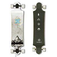 MINORITY Downhill Maple Longboard 40-inch Drop Deck (Alps)