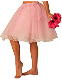 Pink Long Adult Tutu Skirt UP To 40 Inch Waist Lined With 5 Layers Men Women Girls