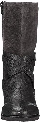 Gabor Shoes Damen Comfort Sport Stiefel, Schwarz (Schw/Dkgreymicro), 43 EU - 4