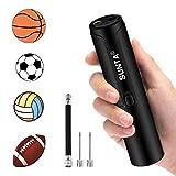 Suntapower Bomba de Bola Eléctrica Automática, Bomba de Aire a Batería con Agujas para Balones Deportivos, Baloncesto, Fútbol, Voleibol, Fútbol, Rugby, Anillo de Natación, etc.