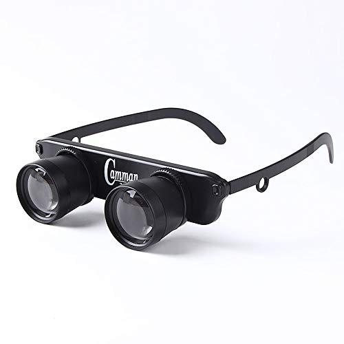 DWON [26 Angeln Gläser Uhr Drift Special Headset 3 Mal Zoom in High-Definition Lupe Glas Teleskop...