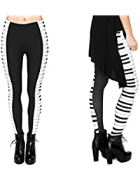 Print Leggings Damen 30 Modelle Gym Leggins Legins Ladies Hipster Pants von Alsino