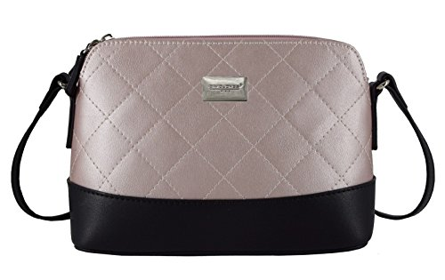 David Jones CM3861 WHITE, Borsa a tracolla donna Bianco bianco Pink