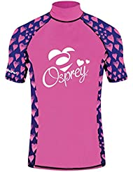 Osprey Girl's Infant Dotty Short Sleeve Rash Vest Top